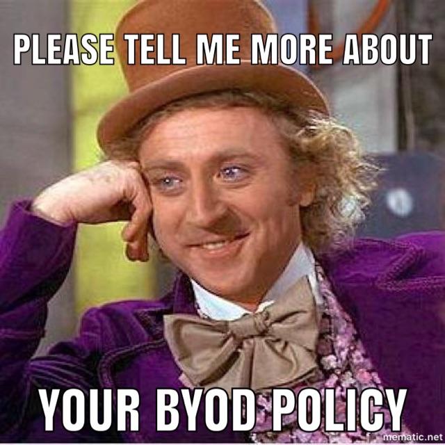 BYOD Disadvantages