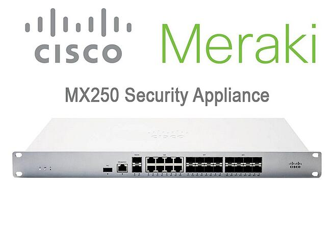 cisco meraki mx250