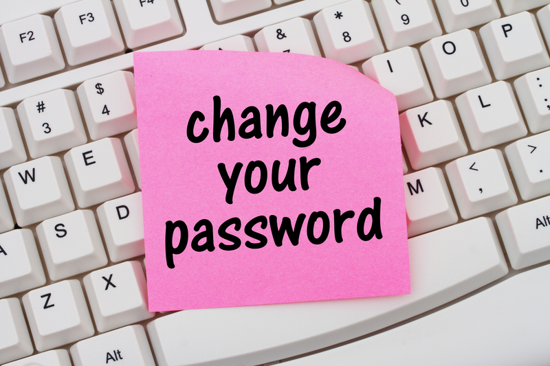 Stop reusing passwords