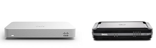 meraki mx64 vs. sonicwall SOHO