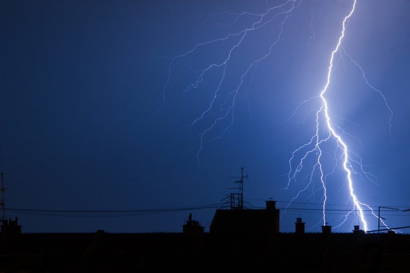 Uninterruptible Power Supplies protects network equipment during lightning storms