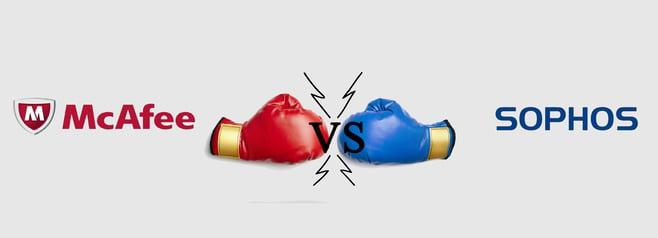 Endpoint Security Comparison: Sophos Endpoint vs  McAfee