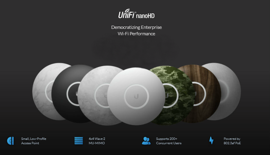 ubiquiti new access points