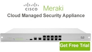 meraki security appliance