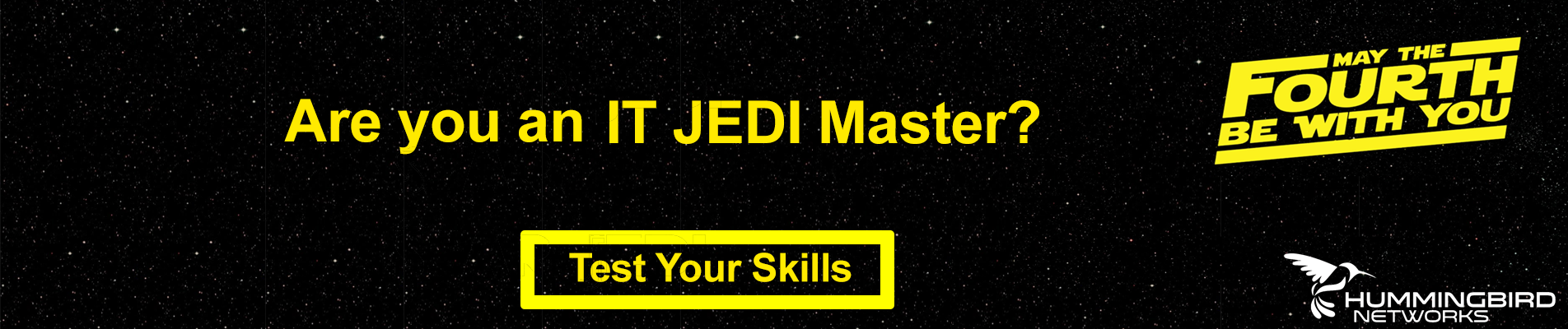 Are You An IT JEDI Master? Test Your Skills!